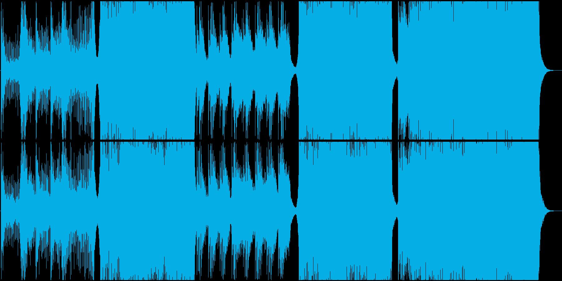実験的 ロック ポストロック アク...の再生済みの波形