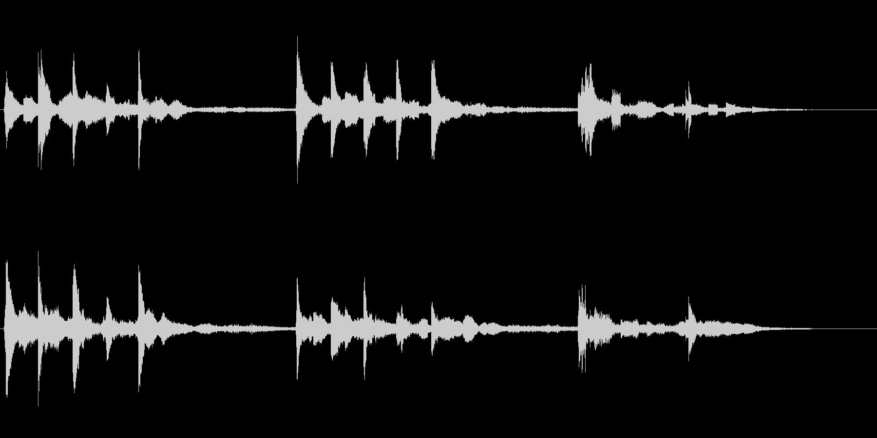 星の世界 透明感のあるファンタジーな音の未再生の波形