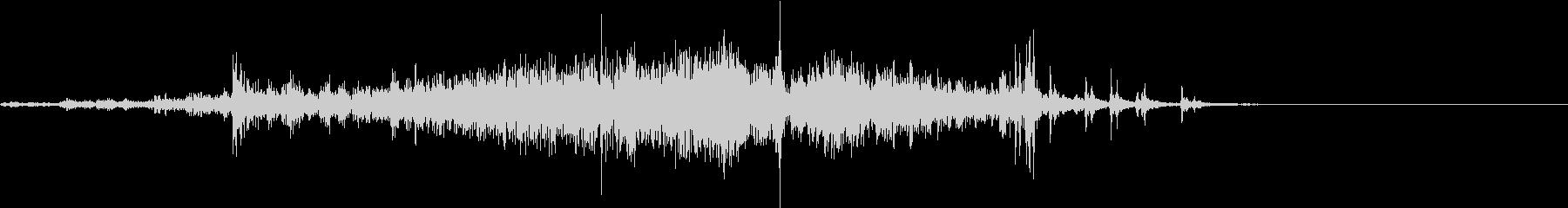 【生録音】カーテンの開閉音 1の未再生の波形