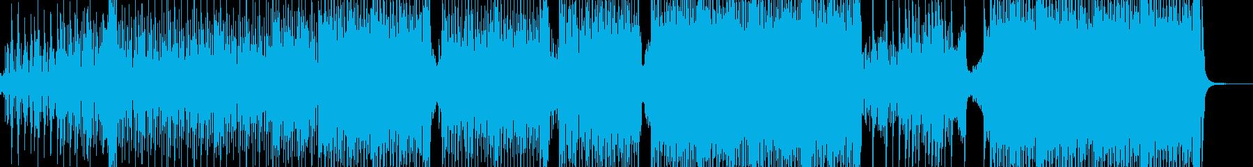 弱肉強食・原始時代イメージのテクノ B3の再生済みの波形