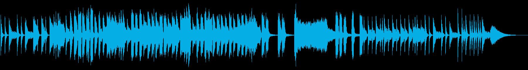 わくわくするマーチングバンド風ジングルの再生済みの波形