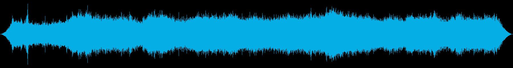 ヘビー・シティ・ウィンド:吹く突風...の再生済みの波形