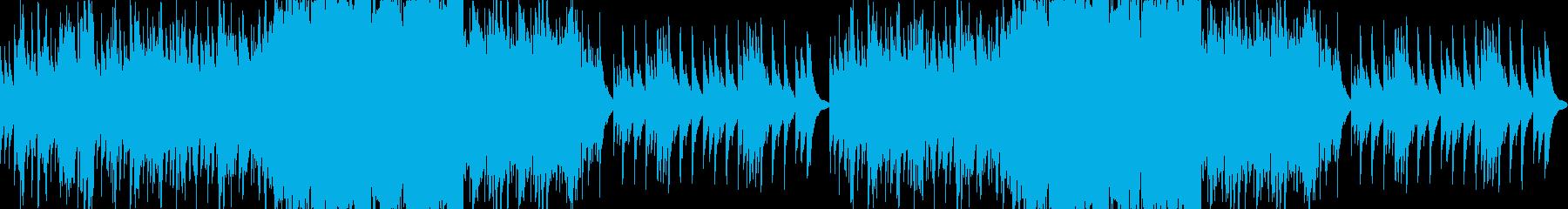和風琴のみ正月和風日本の再生済みの波形