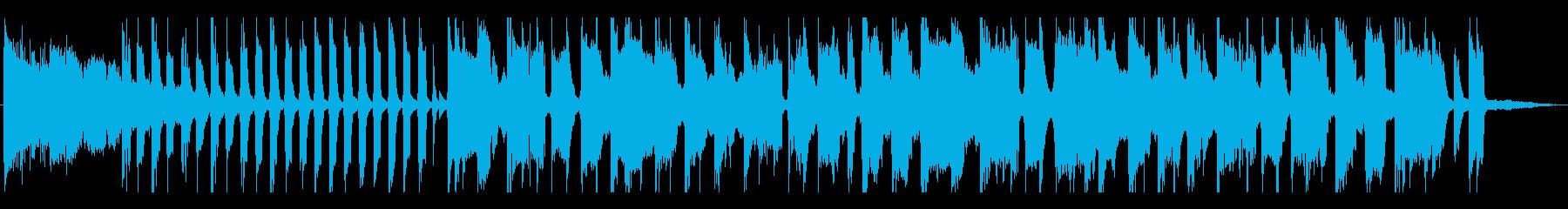 場面転換、CM、イントロ_インパクト有りの再生済みの波形