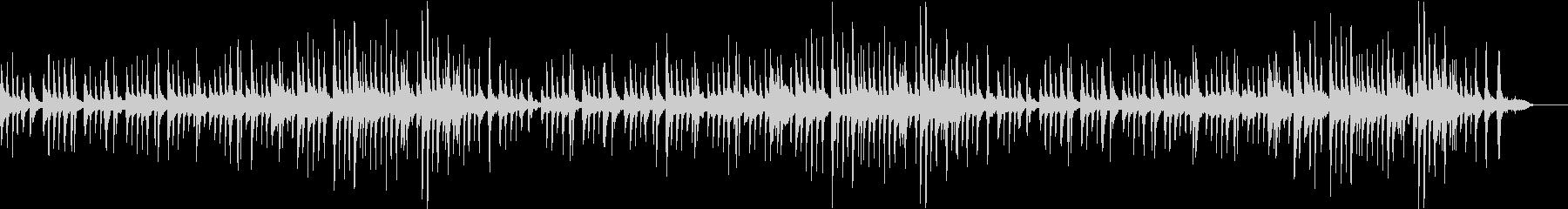 チェロとピアノの夏バラードの未再生の波形