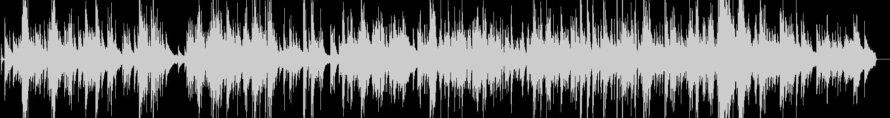 大人のジャズバラードの未再生の波形