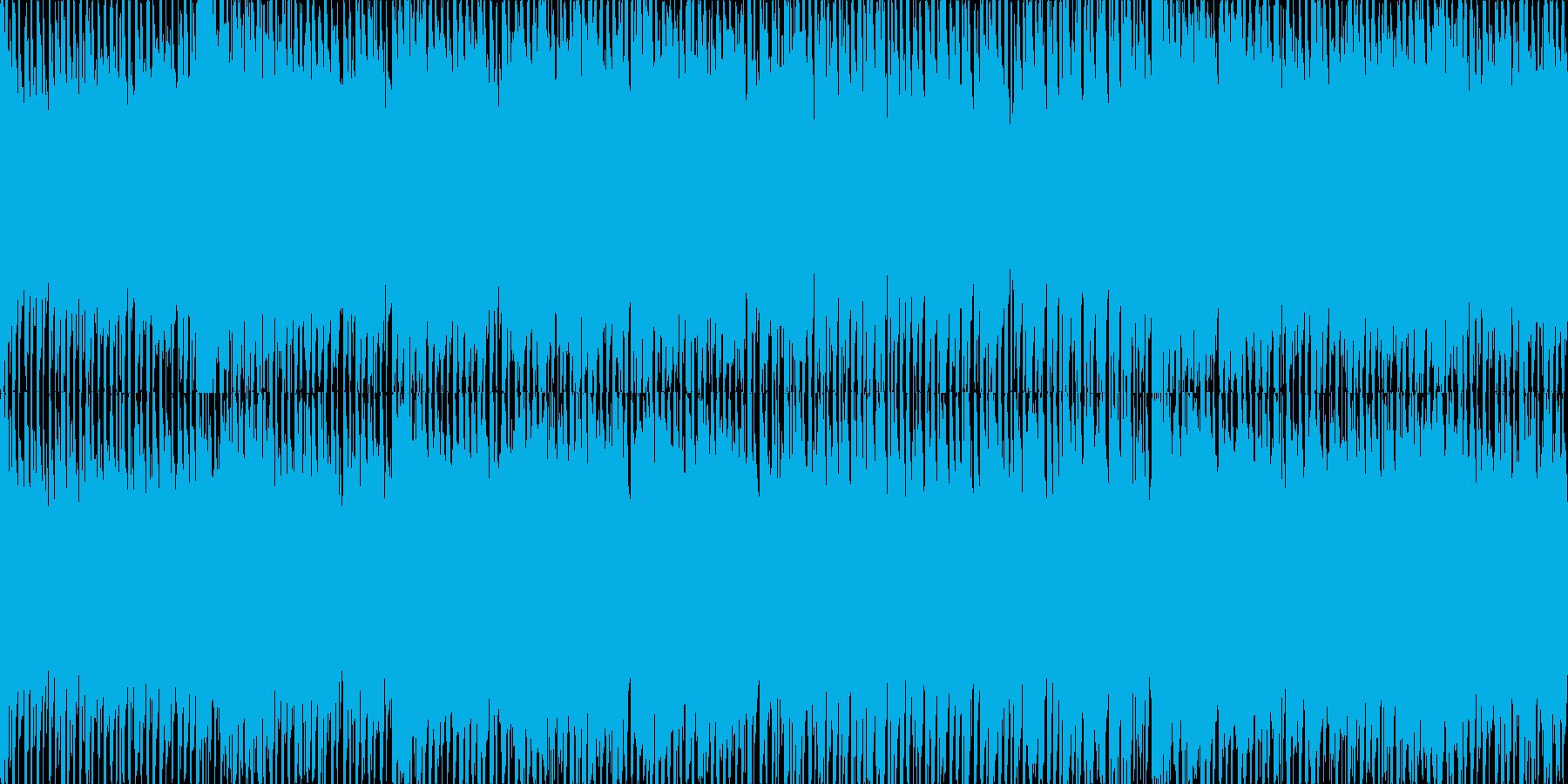 近未来を感じさせるEDMの再生済みの波形