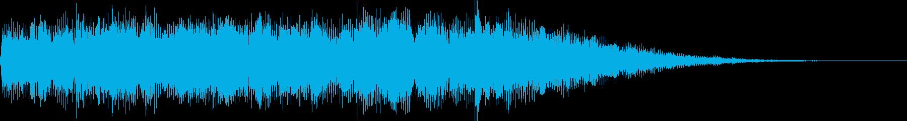 【ジングル】広大・穏やか・優しいの再生済みの波形