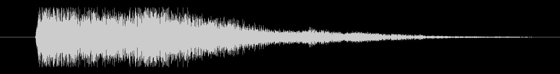 ヘビーシートメタルクラッシュ、金属衝撃の未再生の波形