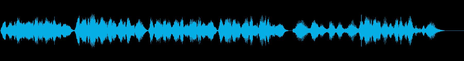 【バイオリン生演奏】埴生の宿(伴奏なし)の再生済みの波形