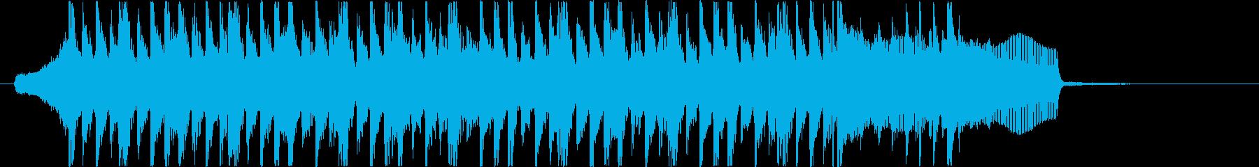 ElectroPop2・かわいい・ポップの再生済みの波形