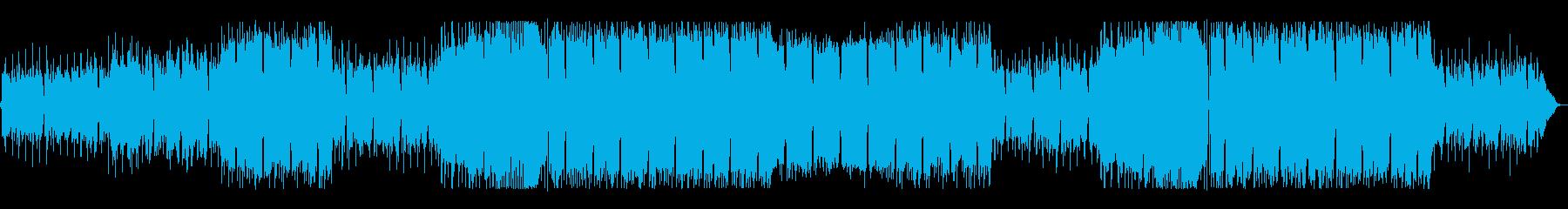 洋楽 フューチャーポップ 暗い中でも希望の再生済みの波形
