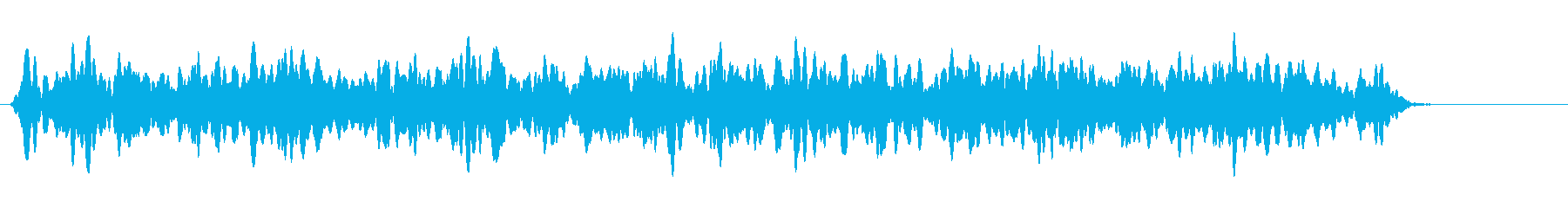 日本の救急車のサイレン(遠距離)の再生済みの波形