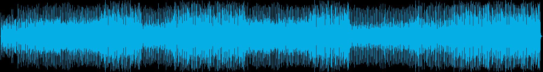 オリジナルのメロディとドライビング...の再生済みの波形