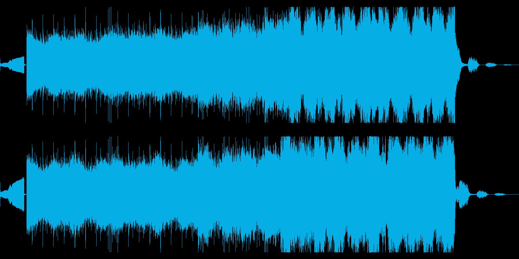 『涙が吸われていく』様なイメージで作ったの再生済みの波形