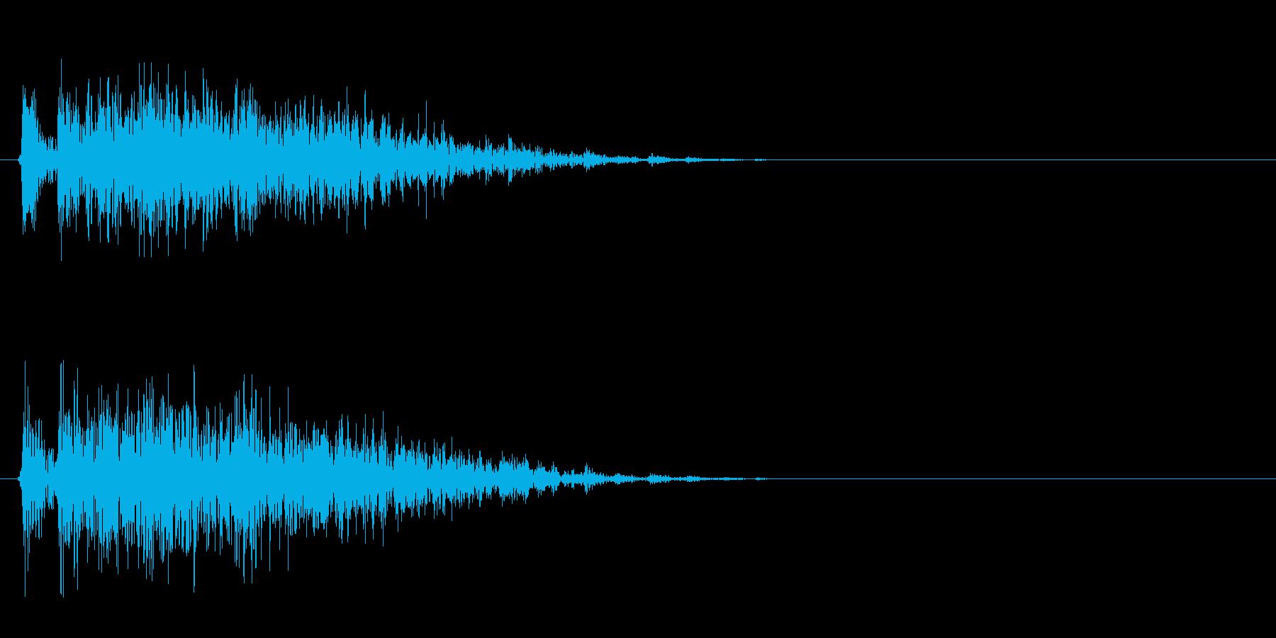ギィィッ(床がきしむ音、ホラーゲーム)の再生済みの波形