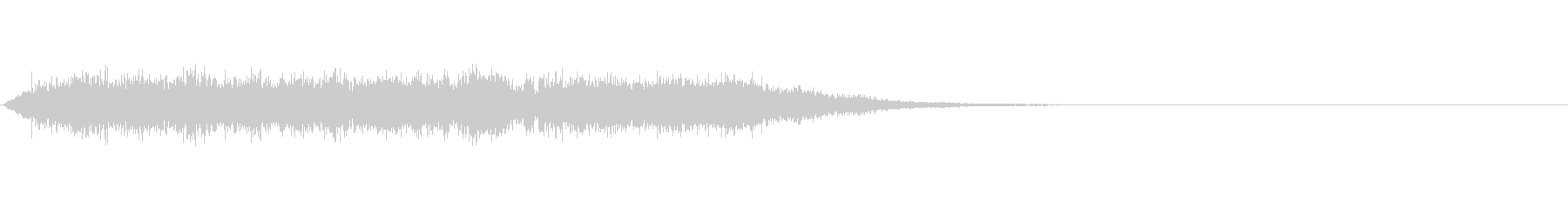 歓声 応援 祝いの声 効果音 01の未再生の波形