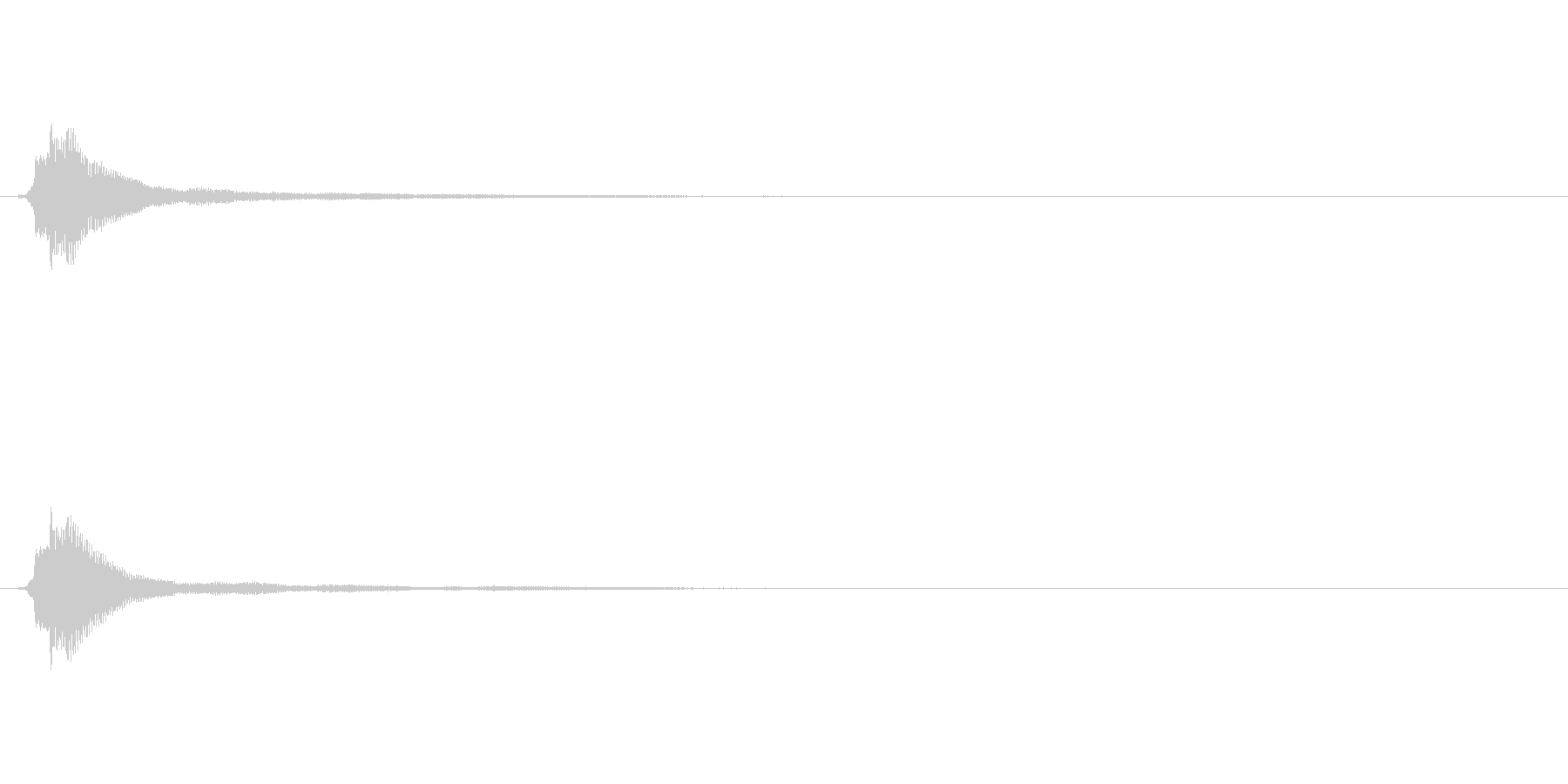 サウンドロゴ(企業ロゴ)_012の未再生の波形
