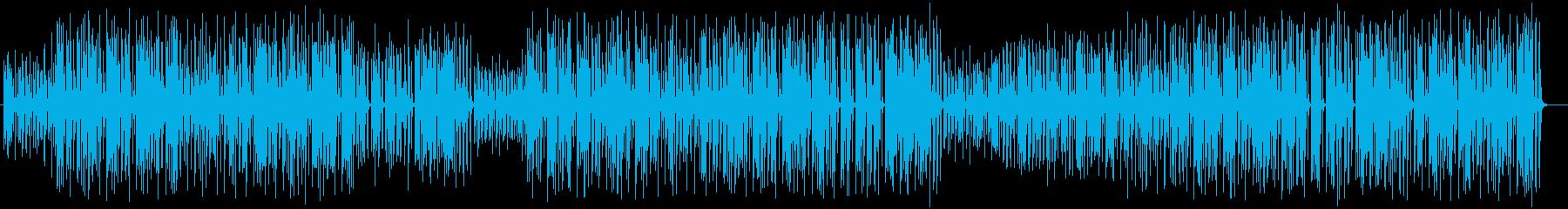 ほのぼのしたストーリーのミュージックの再生済みの波形