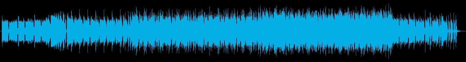 爽やかでスタイリッシュなラテンハウスOPの再生済みの波形