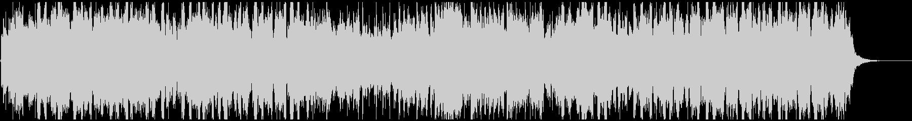篠笛生録の和風EDM、フューチャーベースの未再生の波形