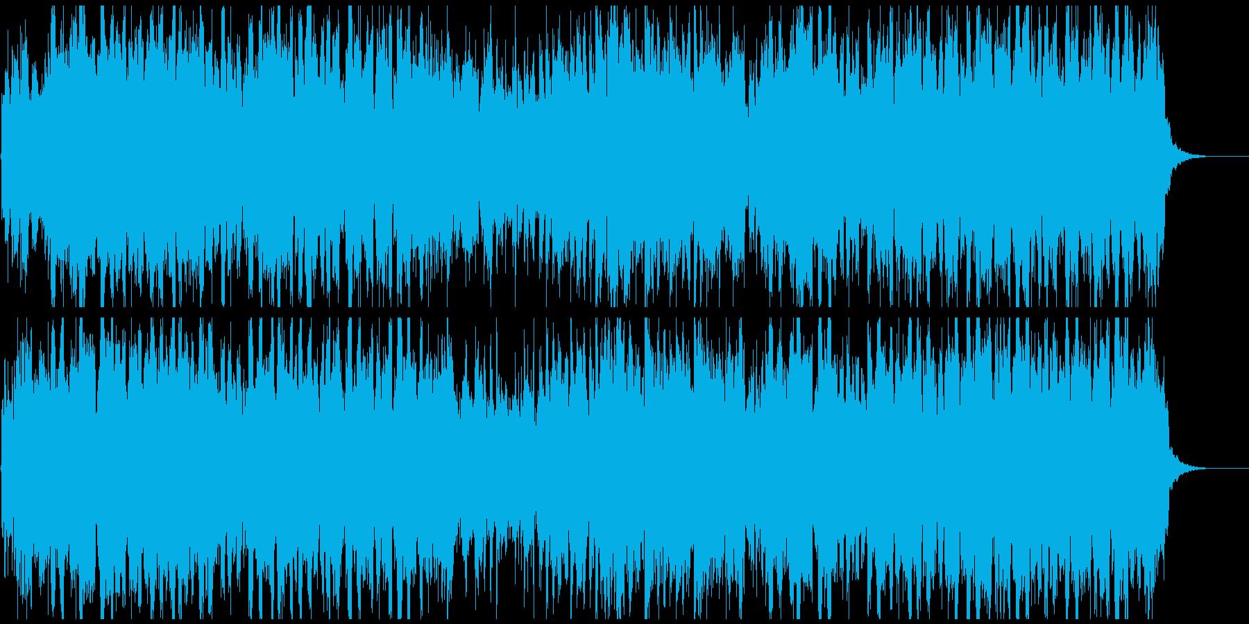 篠笛生録の和風EDM、フューチャーベースの再生済みの波形