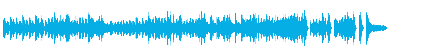 子供 練習曲 音楽室 発表会の再生済みの波形