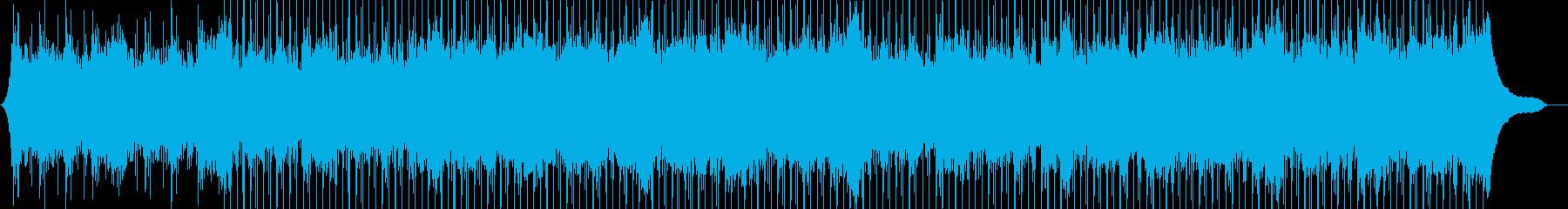 企業VP116、爽快、シンプル、ピアノaの再生済みの波形