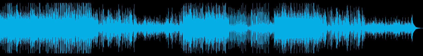 ミントアイスの涼しさをイメージした夏の曲の再生済みの波形