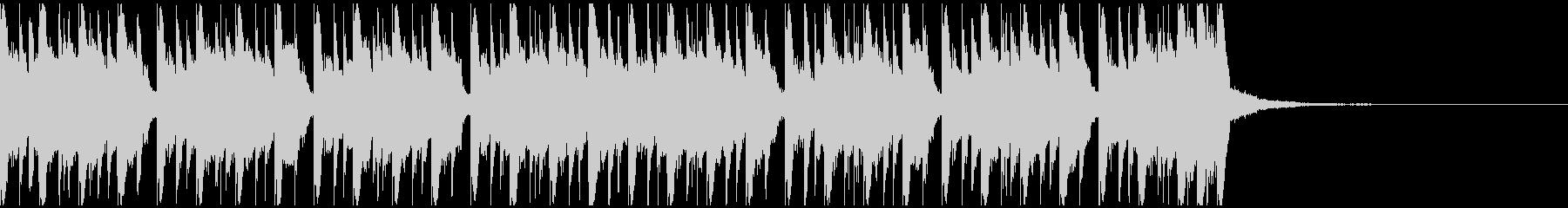 エレクトロスポーツ(23秒)の未再生の波形