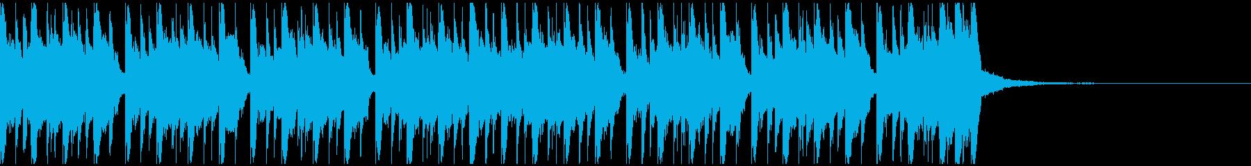エレクトロスポーツ(23秒)の再生済みの波形