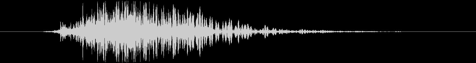 斬撃 ファイヤーノイズブラストラージ03の未再生の波形