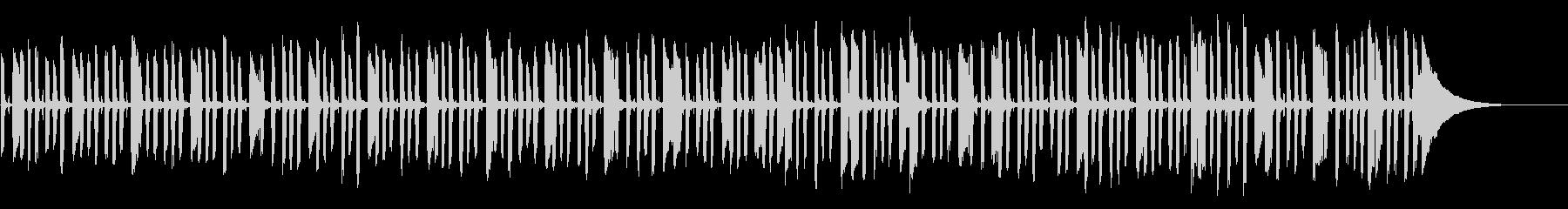 ギター生演奏ジャズ&ブルースほのぼの日常の未再生の波形