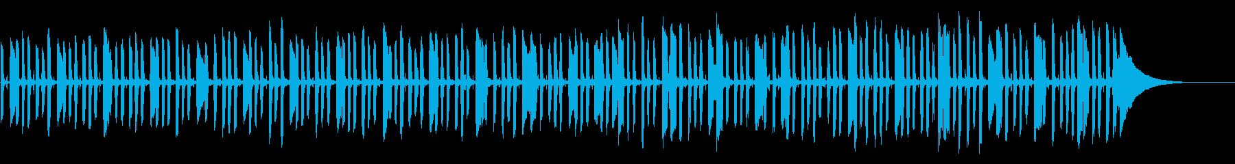 ギター生演奏ジャズ&ブルースほのぼの日常の再生済みの波形