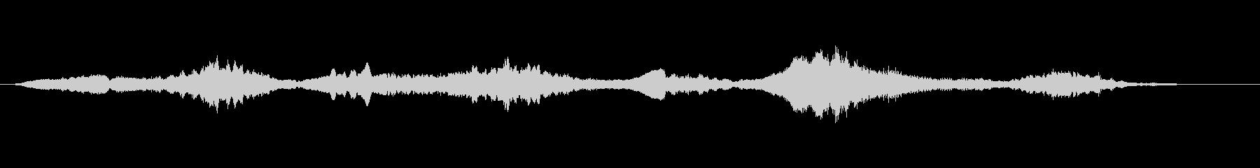 ヴァイオリンを使った短いジングルの未再生の波形