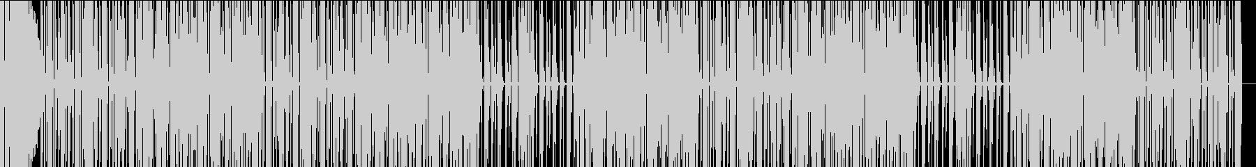 ファンキーでジャジーな都会的ヒップホップの未再生の波形