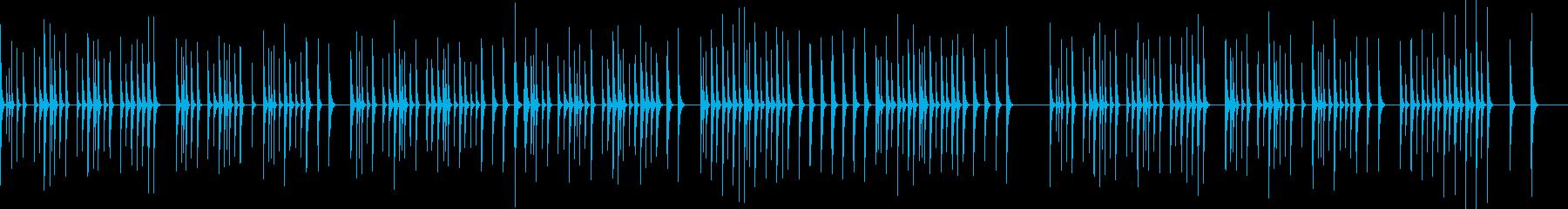 シロフォン(木琴)ソロのとぼけた感じの再生済みの波形
