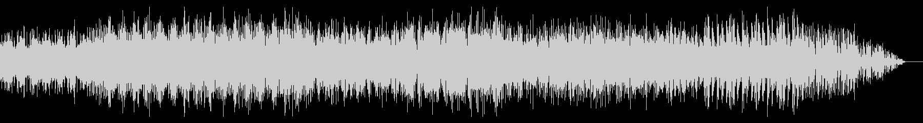 ダークな雰囲気のドラムンベースの未再生の波形