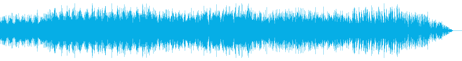 ダークな雰囲気のドラムンベースの再生済みの波形
