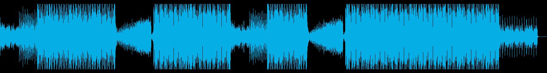ナレーションに合う洋楽ポップなピアハウスの再生済みの波形