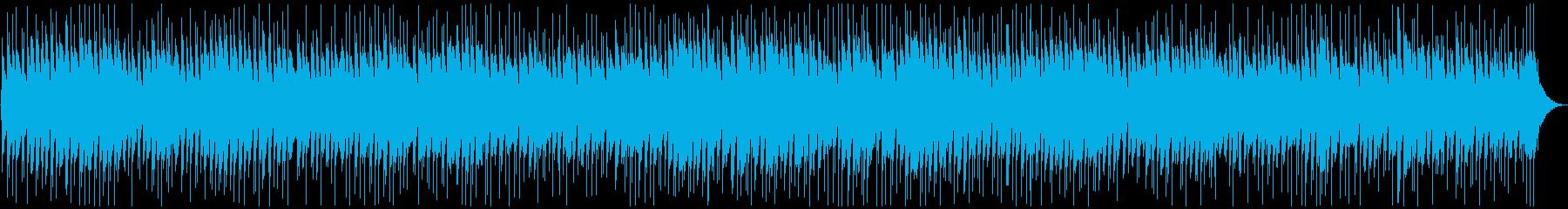 夢の中で鳴っているようなギターBGMの再生済みの波形