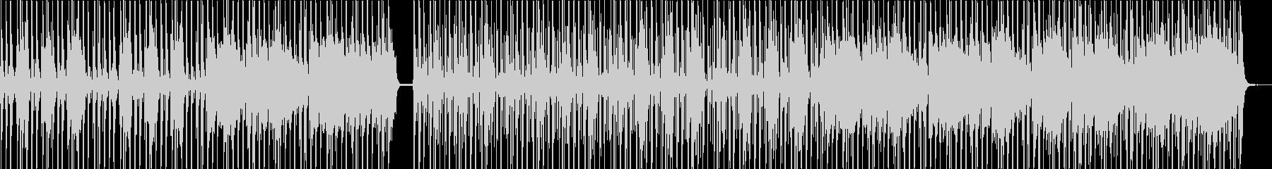 リズミカルでヘビーなシンセサウンドの未再生の波形