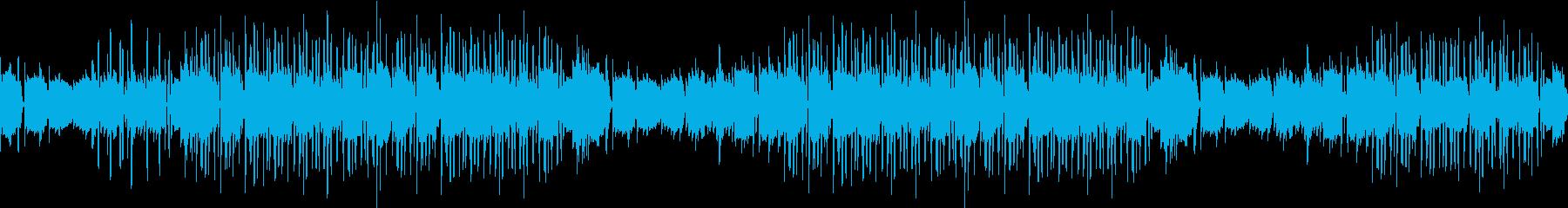 夜・センチメンタル・ギター・青春・ループの再生済みの波形