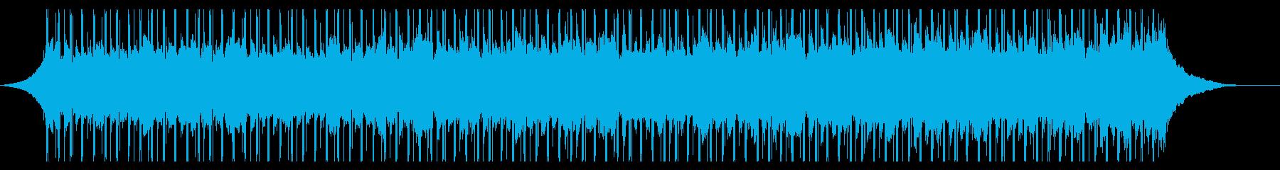 チュートリアル(60秒)の再生済みの波形