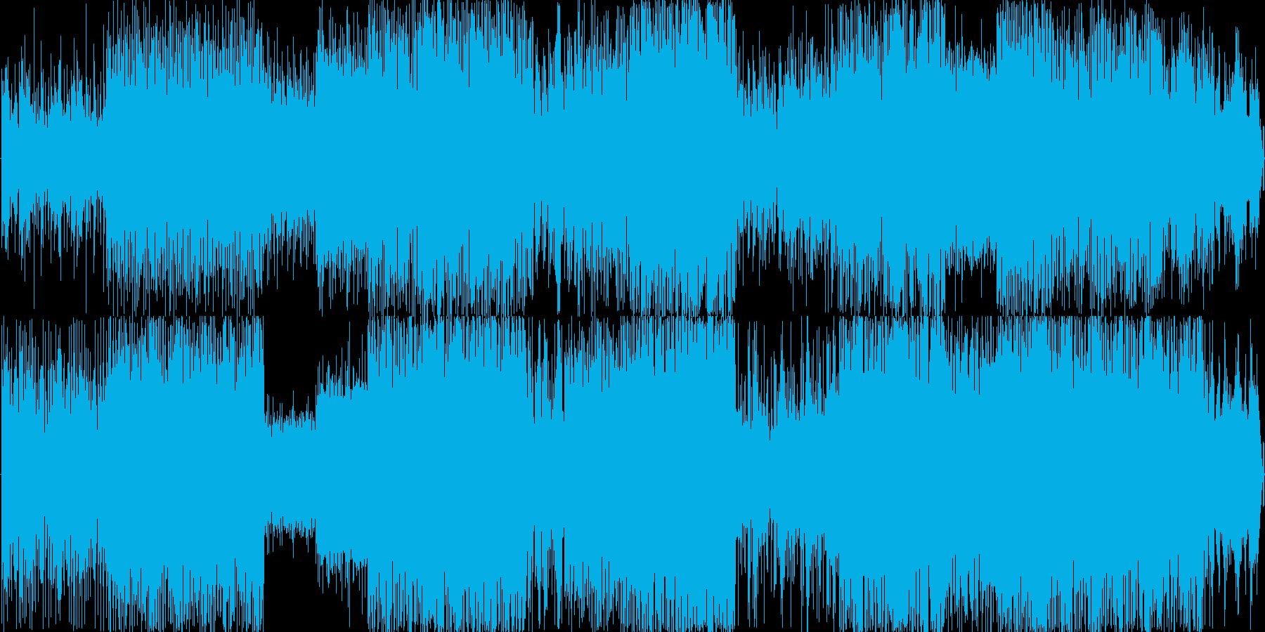 DnB エレクトロの再生済みの波形