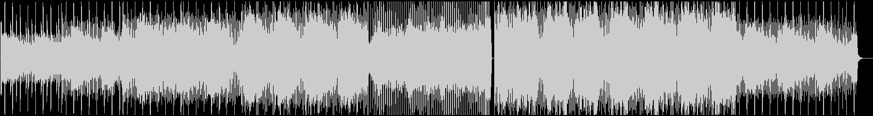個性的で可愛いスローエレクトロニカの未再生の波形