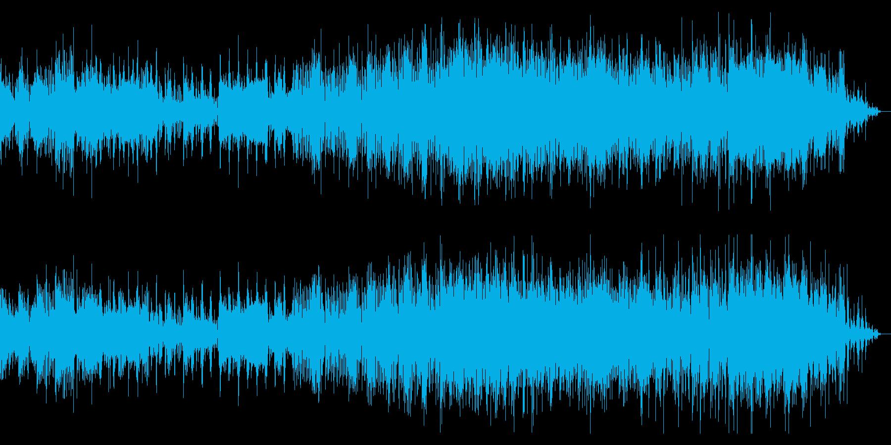 不思議な印象のアンビエントIDMの再生済みの波形