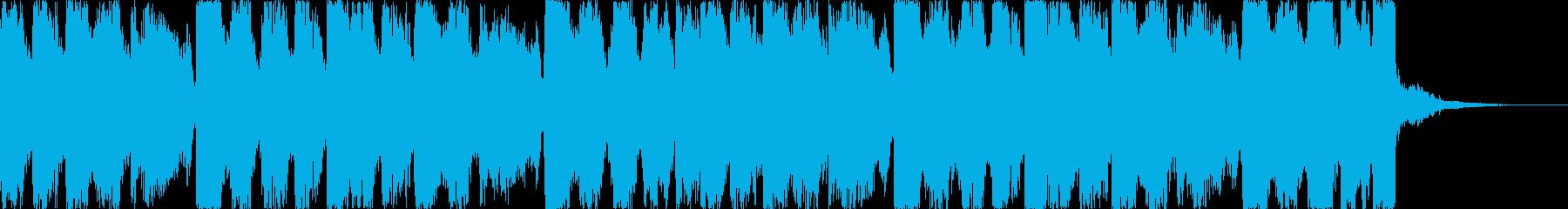 おしゃれコーポレートコマーシャルEDMeの再生済みの波形