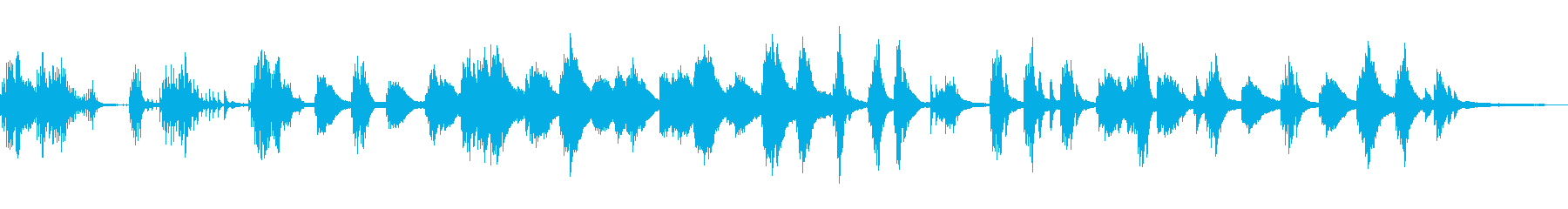 怪談/静かな和風曲20-ピアノソロの再生済みの波形