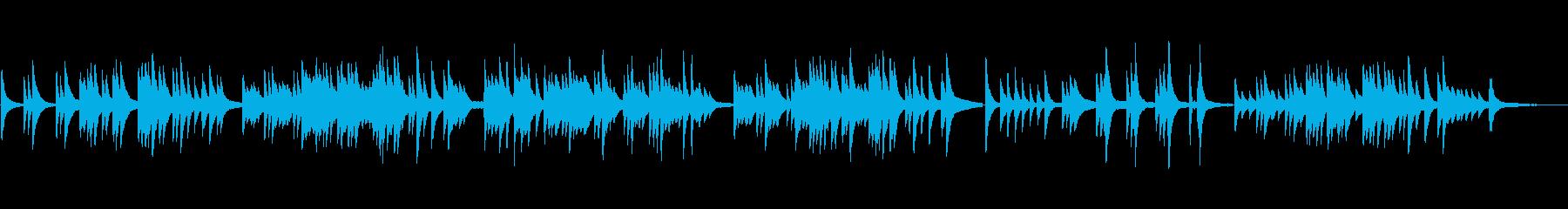 シンプルで切ないバラード/ラウンジピアノの再生済みの波形